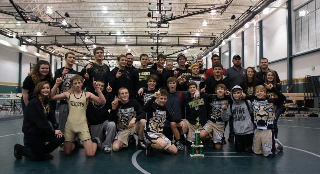 LHS Wrestlers Capture Westfield Dual Team Championship!