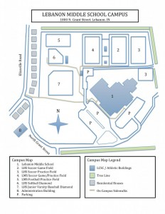 LMS Campus Map