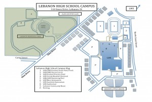 LHS Campus Map