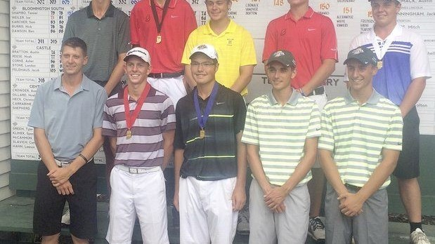 Zach Schroeder has Outstanding Performance at IHSAA State Golf Tournament, Qualifies for All-State Team