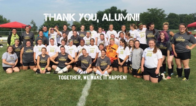 THANK YOU, ALUMNI!
