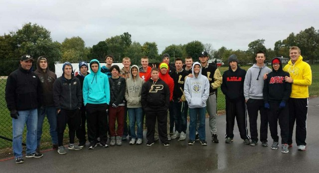 LHS Baseball Program Supports Cleanest City in Indiana Project!