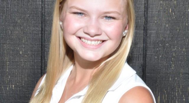 Congratulations Golfer Allison Goodwin!