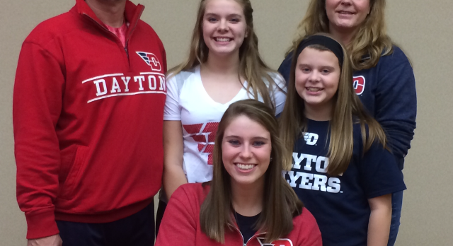 Congratulations Jessica Weaver: Signed Softball Dayton