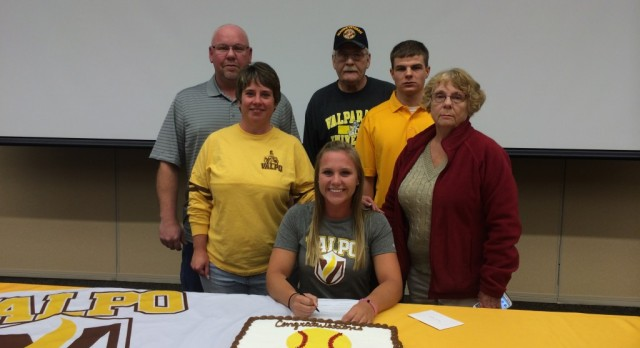 Congratulations Hannah Dybalski: Signed to play Softball Valparaiso