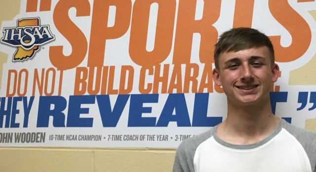 Congratulations Lucas Beck Indy Star Athlete of the week: Vote for him Athlete of the month