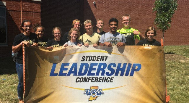 Thanks to the IHSAA and Plainfield for hosting Outstanding Student Athlete Leadership Conference!