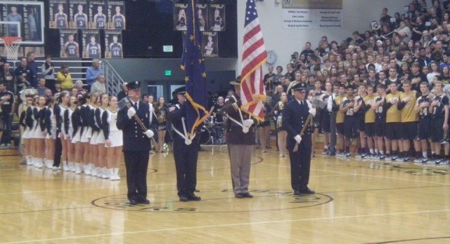 Special thanks to the Members of the Honor Guard!