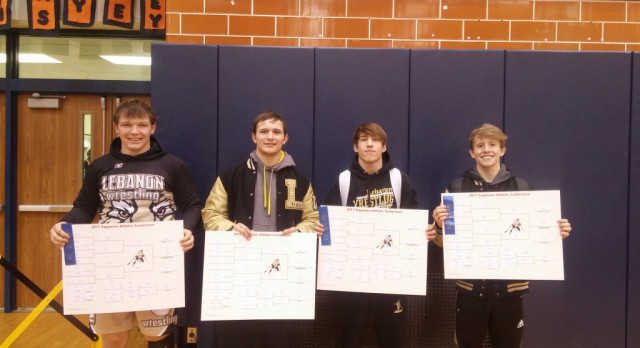 Congratulatons LHS Wrestling Team: 4 Sagamore Conference Champions; Runner-Up finish as a Team