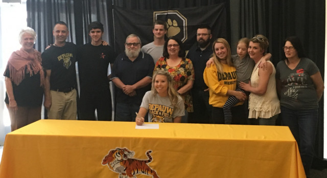 Congratulations Taylor Myers! Signed to Run Track at DePauw