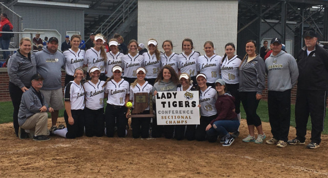 Softball Sectional Champs! 10-0 victory over Western Boone