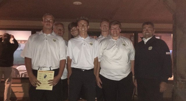 Congratulations to The Lebanon Tigers Golf Team Sagamore Conference Champions!