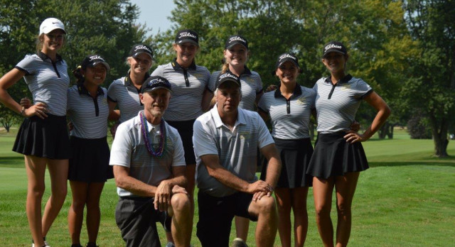 Lady Tiger Golfers Finish their season in style at IHSAA Regional Golf Tournament.