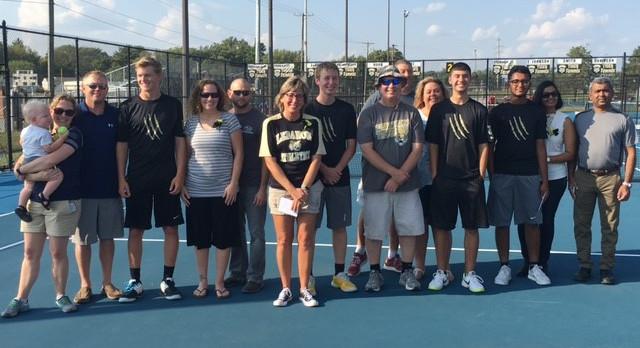 Tiger Tennis Celebrates Senior Night versus Lafayette Jefferson