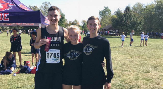 Congratulations to Sectional Cross Country Runners Alex Brummett, Robby Muse Myers & Emerson Haines, all qualified for Regional Competition.