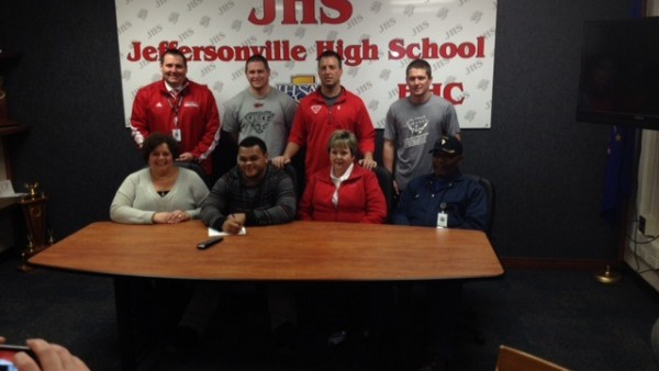 Jolley-Little signing