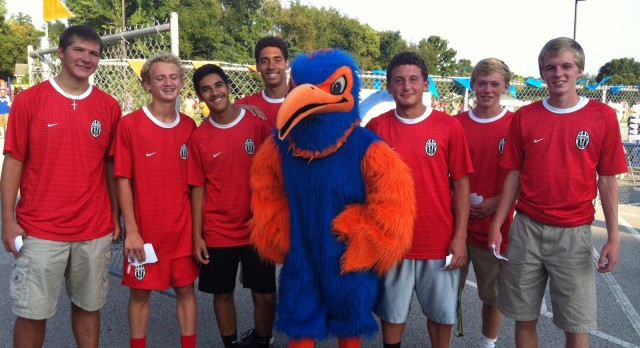 "Boys Soccer Helps Riverside Elementary ""Back to School Night"""