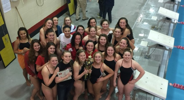 Girls Swimming Dominates New Albany Relays