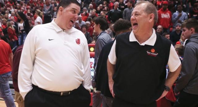 Jeff vs New Albany Basketball Game