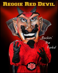 Reg Red Devil Rockin it