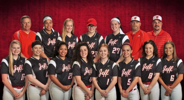 Jeffersonville High School Varsity Softball beat North Harrison High School 5-2