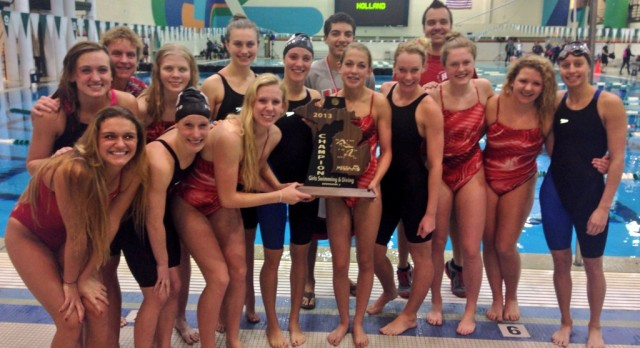 Girls Swimming Wins State Championship