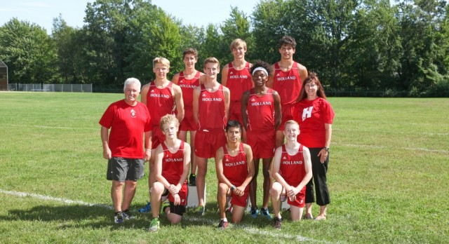 Boys Cross Country Wins Conference Title