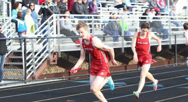 Track Relay Team Breaks School Record
