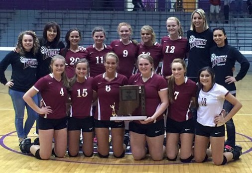 Lady Cardinals Win 3rd Straight Sectional Championship!