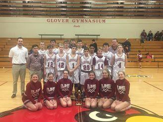 Bloomfield Boys 7th Grade – Bloomfield Tournament Champions