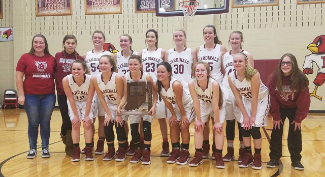 Lady Cardinals Basketball Team is Back-to-Back Sectional Champions – To Play Jac-Cen-Del in Regional
