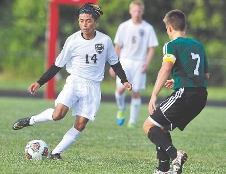 Anderson High School Boys Varsity Soccer beat Yorktown High School 2-0