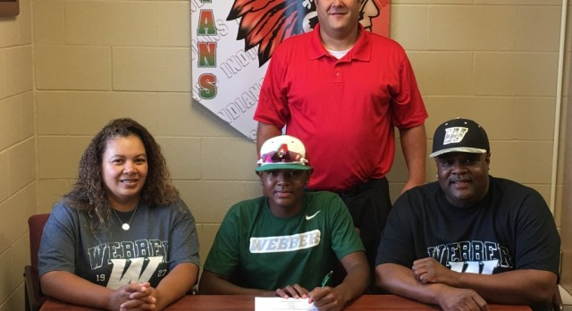 Pitcher Brandon Johnson signs with Webber Int'l University baseball