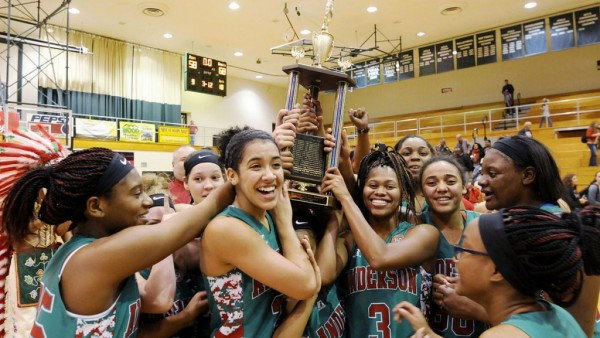 Lady Tribe celebrates 2015-16 Madison County Championship