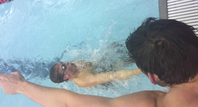 Anderson High School Boys Varsity Swimming beat Jay County High School 195-104