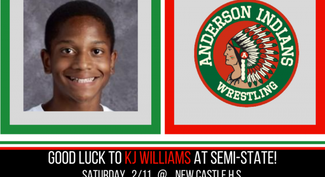 KJ Williams competes in Semi-State Saturday