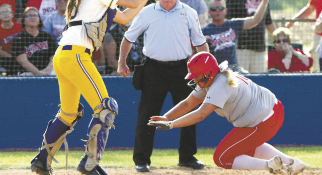 Lady Tribe edged in dramatic 11-inning sectional title game