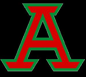 Block A - Red w Green Trim