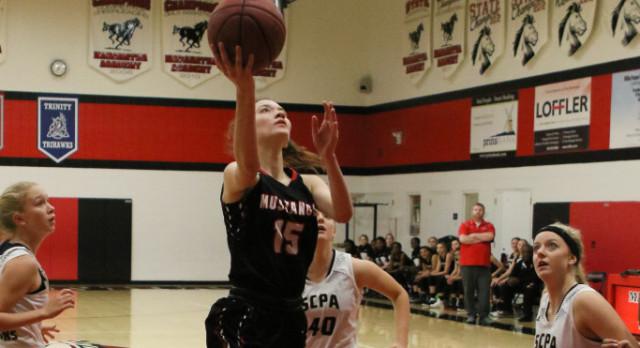 Mustangs Girls Clinch Regular Season Conference Title!