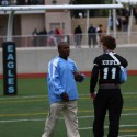 Assistant Head Coach Daimond Dixon and Running Back Sam Kuiper