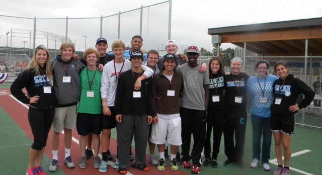 Students Serve at Miracle League
