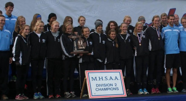 Girls Cross Country Wins State Title!