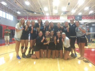 Volleyball Wins WMVOA Tournament!!