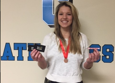 High School Heisman Finalist, Kristin Danielson
