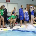 Girls Swim vs Catholic Central 10.8.15