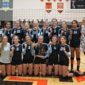 Volleyball District Championships – Eagles beat EGR!!