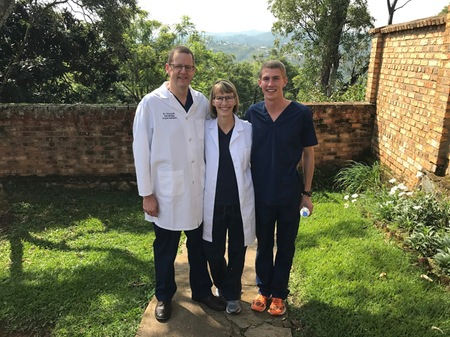 Mark DeJong (Class of 2014) Learning and  Training in Rwanda