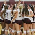 2014 Girls Volleyball vs. Covenant Christian
