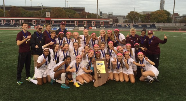 Girls Soccer Wins State Championship 2-1 over Penn!!!