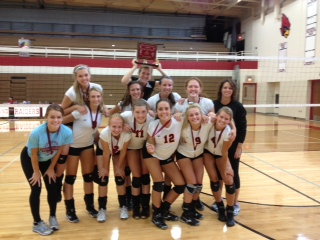 Varsity Volleyball Team Wins Portland Invite